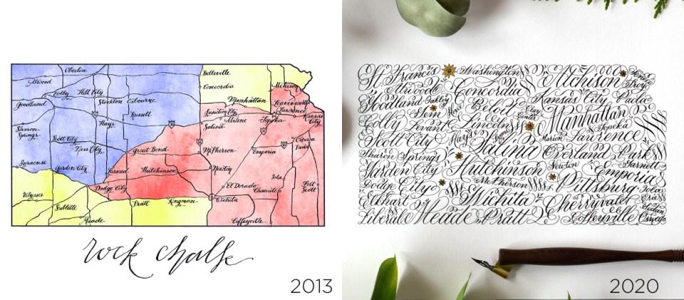 Kansas Calligraphy