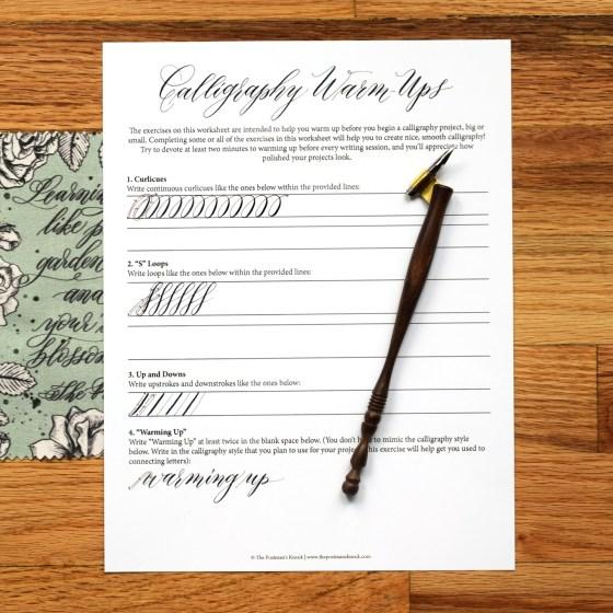 Enjoy this warm up worksheet!