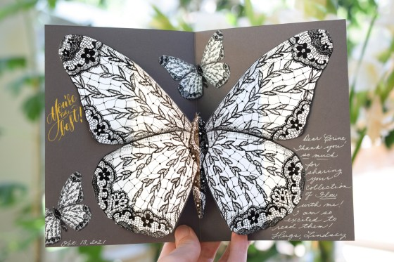 These butterflies are great for greeting cards!