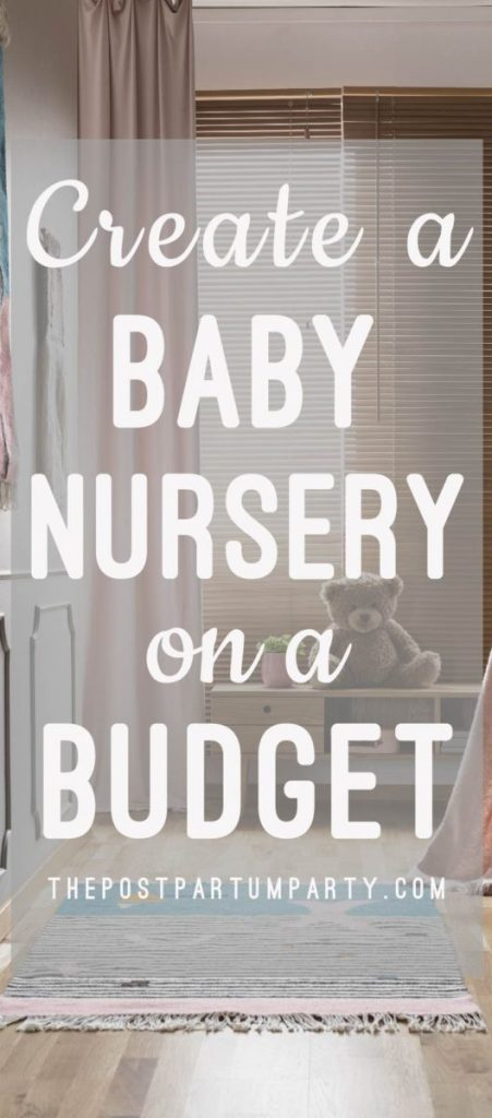 Have limited funds for your baby's nursery? Learn how you can set up a beautiful nursery even on a small budget! Here are decorating and shopping tricks so you can create a beautiful nursery on a budget.