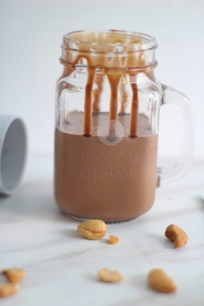 brownie batter lactation smoothie