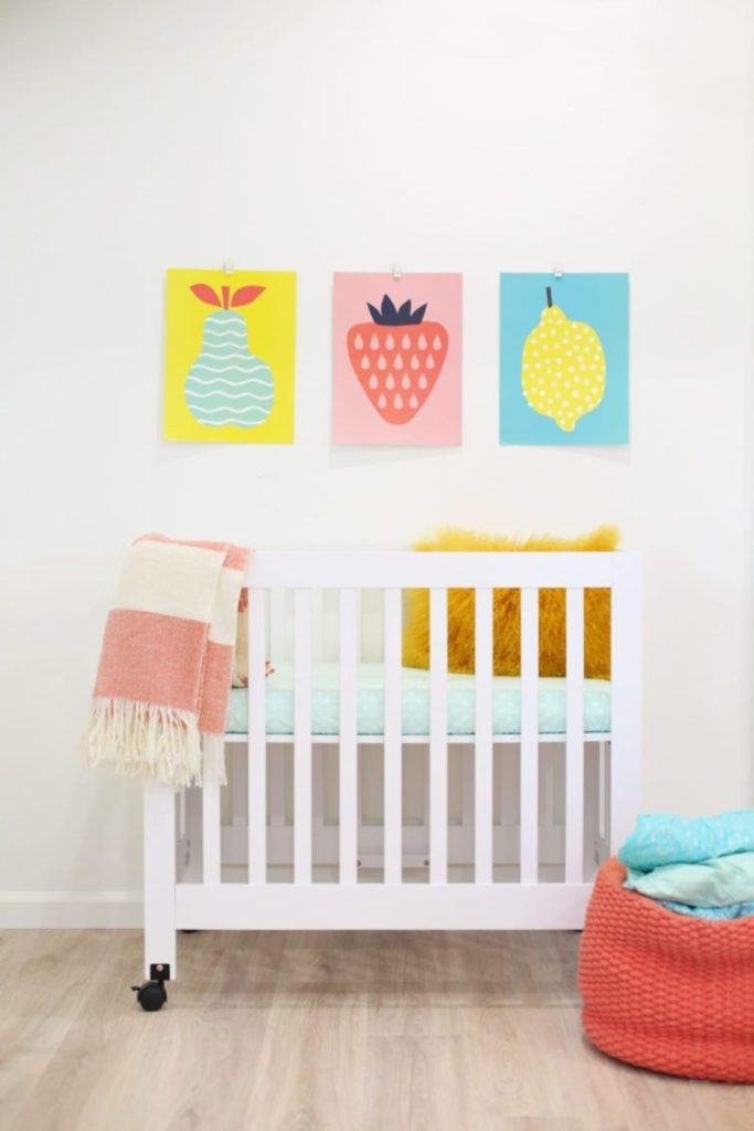 ikea nursery hack mini crib sheets