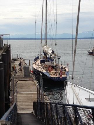 A few hours sailing!