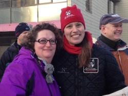 My friend Karen with awesome Aliy Zirkle