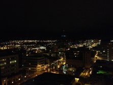 My first view of Anchorage!