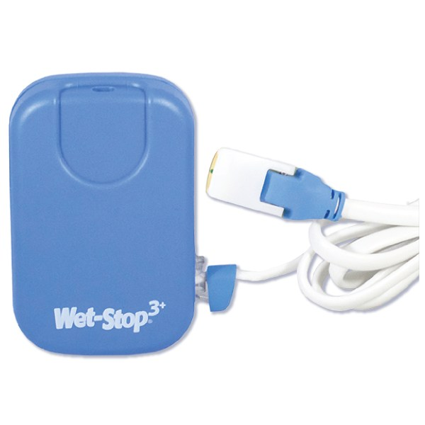 Blue Wet-Stop 3+ with sensor cord attached.