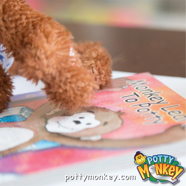 Monkey Learns to Potty children's board book