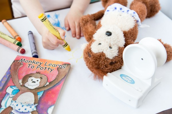 Potty Monkey system for successful potty training