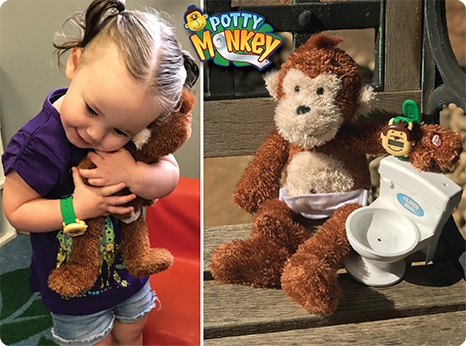 Potty Monkey can help with constipation