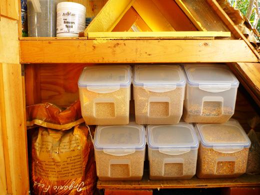 feed storage