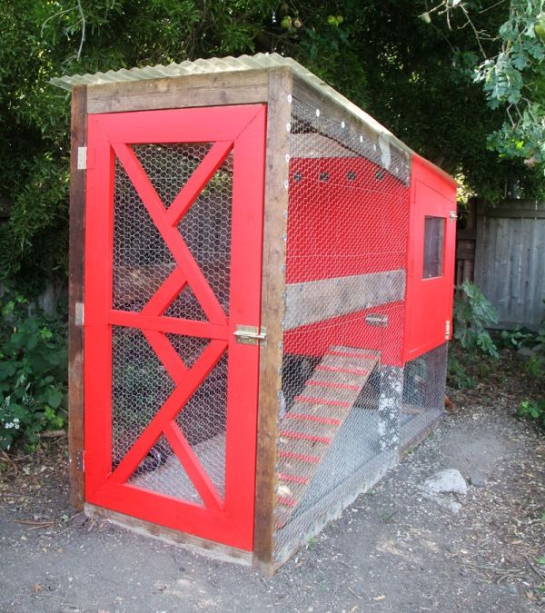 12 Homemade Chicken Coop-Build a Custom Version For Happy ...