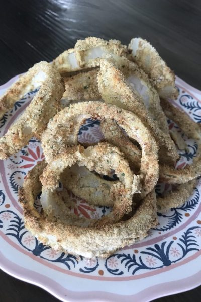 Air Fried Onion Rings