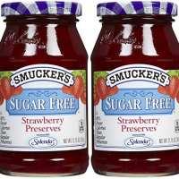 Smucker's Sugar Free Strawberry Preserves