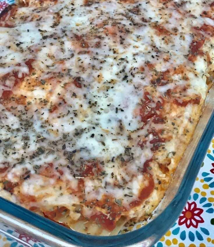 Cream Cheese Chicken Lasagna