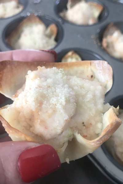 Creamy Shrimp and Crab Rangoon's