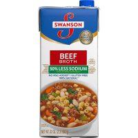 Less Sodium Beef Broth
