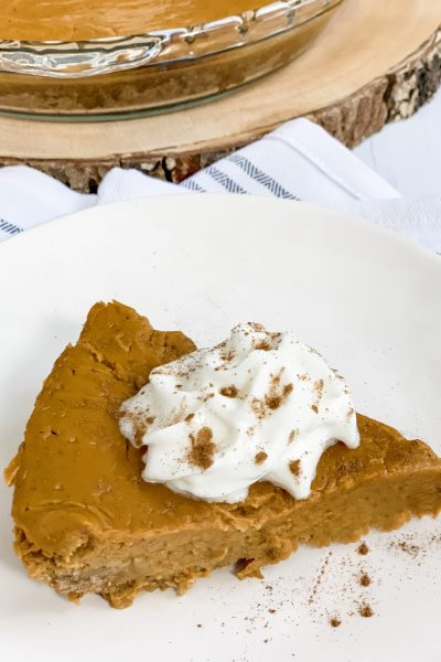 Zero Point Crustless Pumpkin Pie
