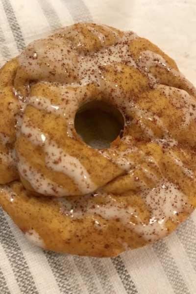 Mini Protein Pumpkin Spice Donuts