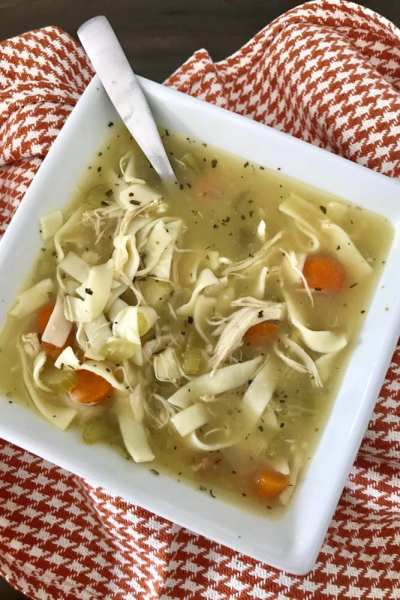 Crockpot Classic Chicken Noodle Soup
