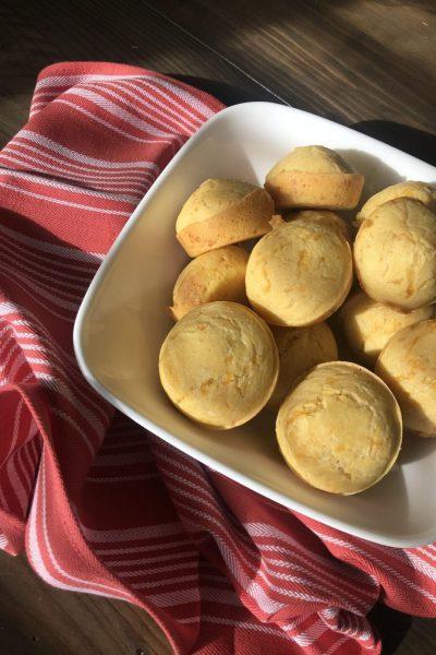 Cheesy Cornbread Muffins