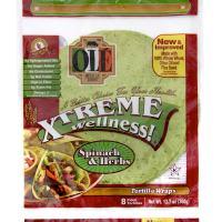 Olé Wellness spinach tortilla