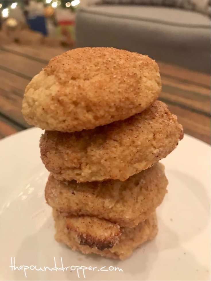 Two Point Soft and Chewy Snickerdoodles
