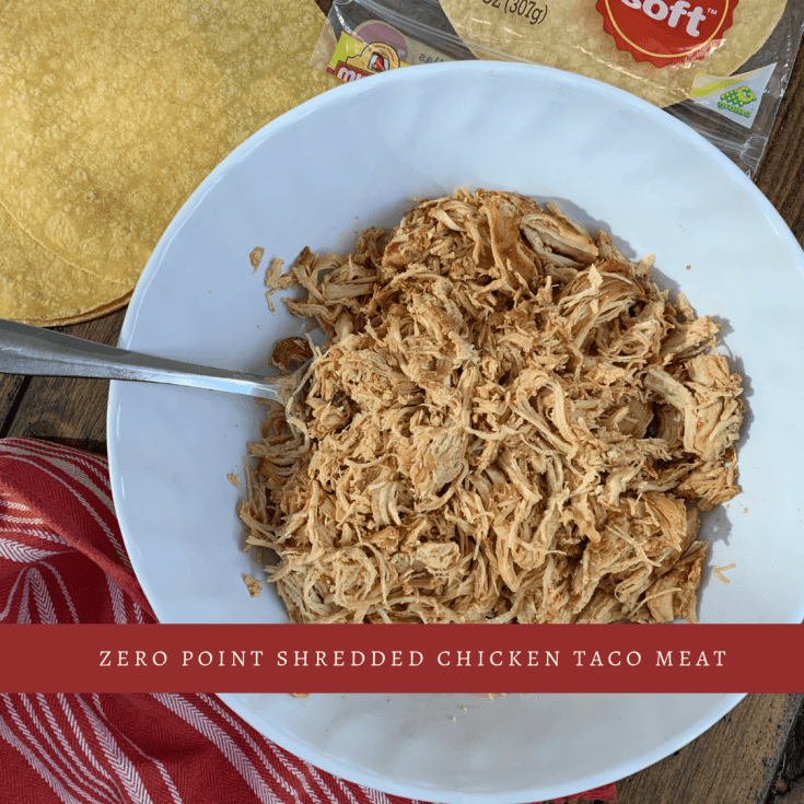 Zero Point Slow Cooker or Instant Pot Shredded Chicken