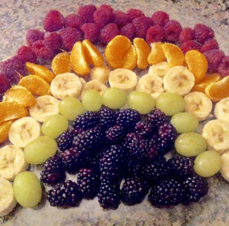 Zero Point Rainbow Fruit Tray