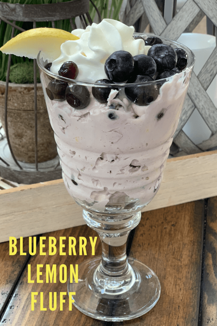 Blueberry Lemon Fluff