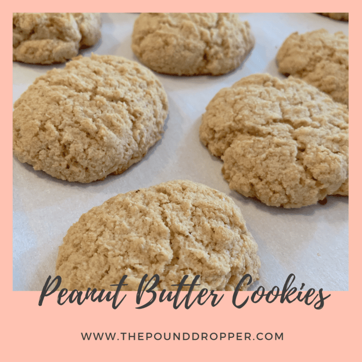 One Point Peanut Butter Cookies