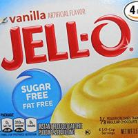 Vanilla Sugar Free Jello Instant Pudding, 1.5 Ounce (4 Pack)