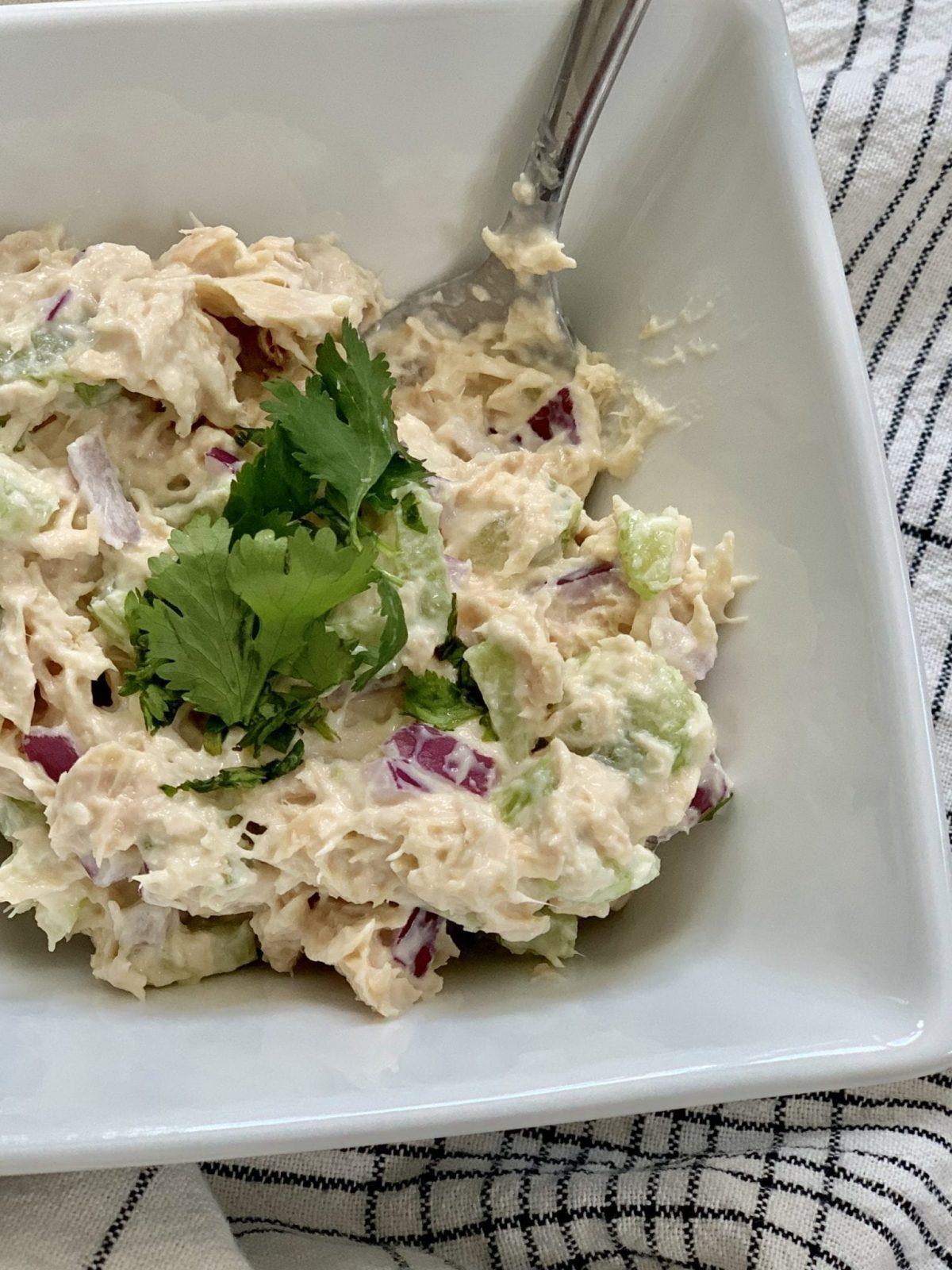 Skinny Tuna Salad