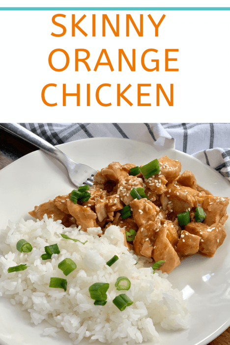 Skinny Orange Chicken Pound Dropper