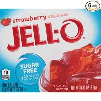JELLO Strawberry Gelatin Dessert Mix