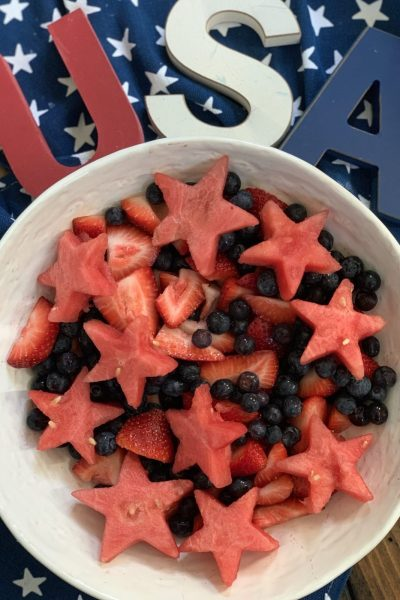 Zero Point Patriotic Fruit Salad