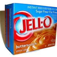 Jell-O Butterscotch Instant Pudding Sugar Free (4-Pack)