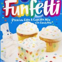 Pillsbury Funfetti Cake Mix (Pack of 2)