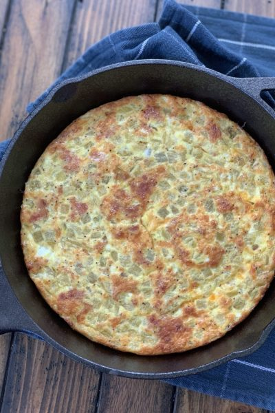 Skinny Mexican Skillet Frittata