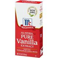 McCormick All Natural Pure Vanilla Extract, 4 fl oz