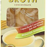 Savory Choice Reduced Sodium Chicken Flavor Broth Concentrate, 4-Count Liquid Sticks (Pack of 6)