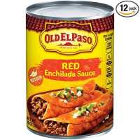 Old El Paso Medium Enchilada Sauce 10 oz Can (pack of 12)