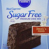 Pillsbury Moist Supreme Sugar Free Devil's Food Cake Mix (Pack of 2)