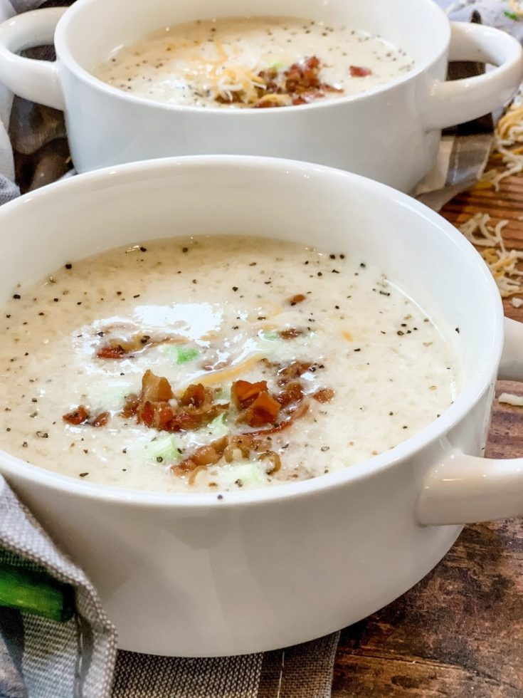 Best Low Point Creamy Potato Cheese Soup