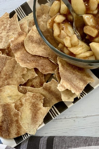Low Point Cinnamon Crisps