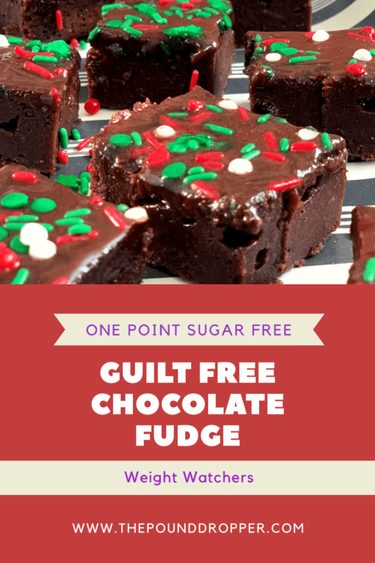 One Point Sugar Free Guilt Free Chocolate Fudge