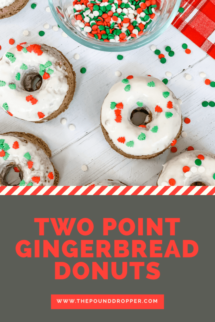 Two Point Gingerbread Donuts