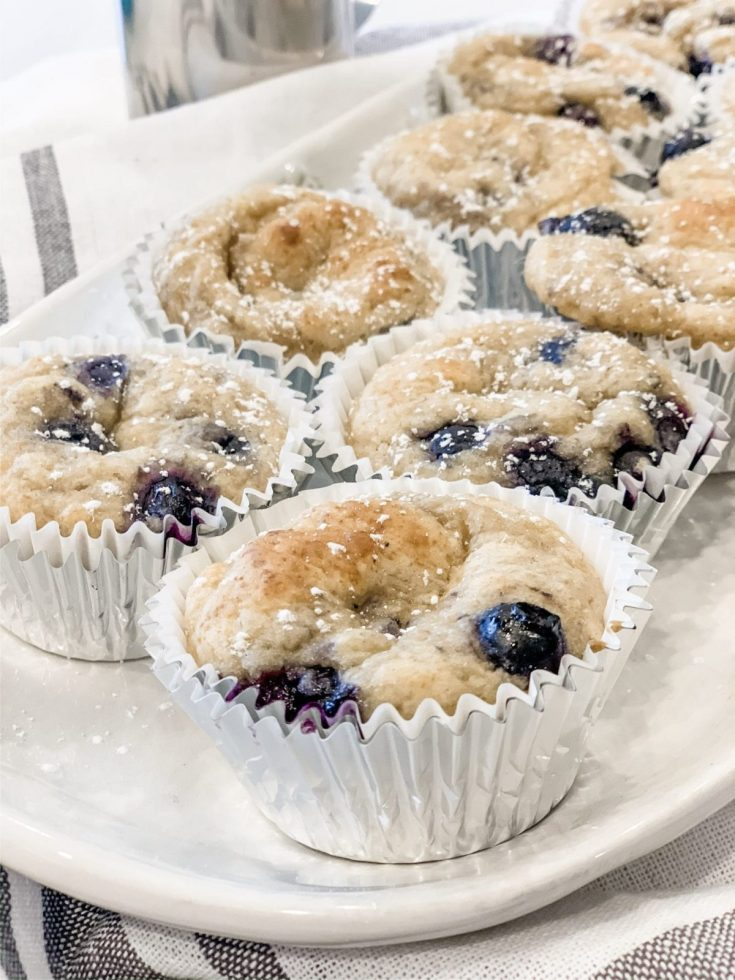 One Point Blueberry Muffins