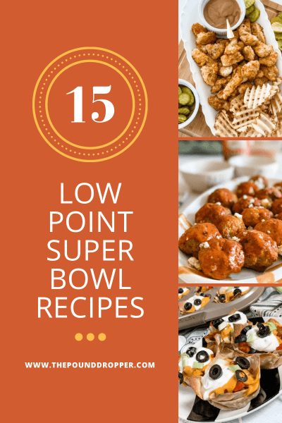 Low Point Super Bowl Recipes