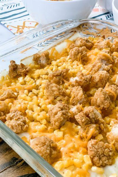 Copycat KFC Chicken Bowl Casserole