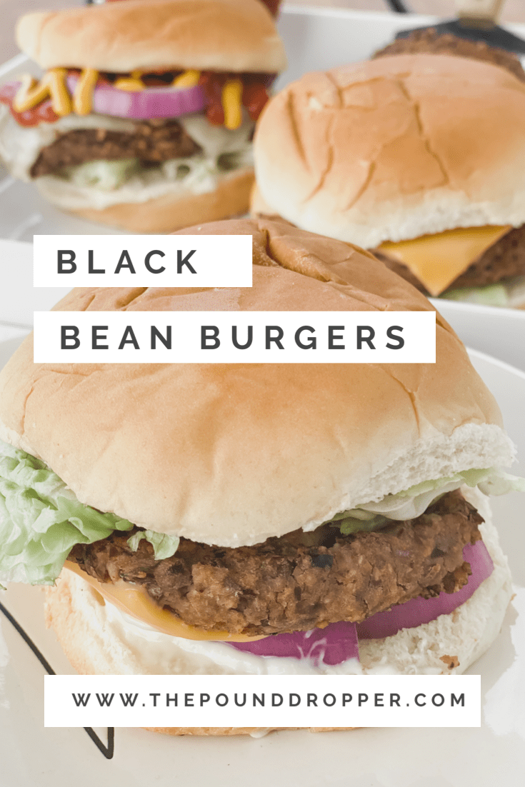 These Black Bean Burgers are simple to make and packed with black beans, onions, garlic, and perfectly spiced with a few other seasonings! These make for the perfect meatless burger! Flavorful and delicious! via @pounddropper